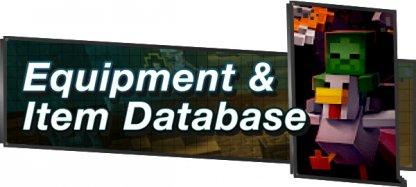 Minecraft Dungeons - Game & Item Database
