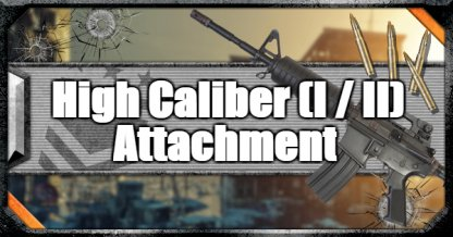 Call of Duty Black Ops IV Weapon Attachments High Caliber (I / II)