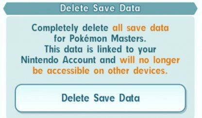Deleting Data will Delete Backup on Account