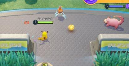 Enemy Pokemon Drop Their Points