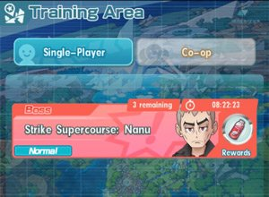 Do Level Up Training in Training Area