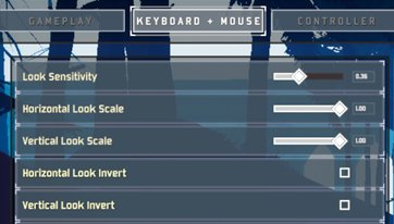 Change Sensitivity and Keybindings For Comfortable Play