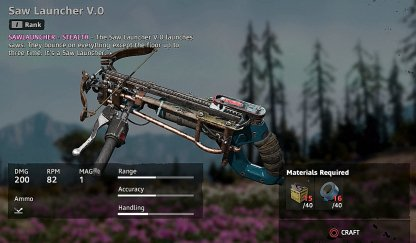Saw Launcher v.0 Recipe