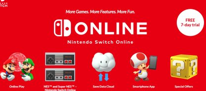 Requires Nintendo Switch Online Subscription