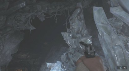 Crystal Fragment Location