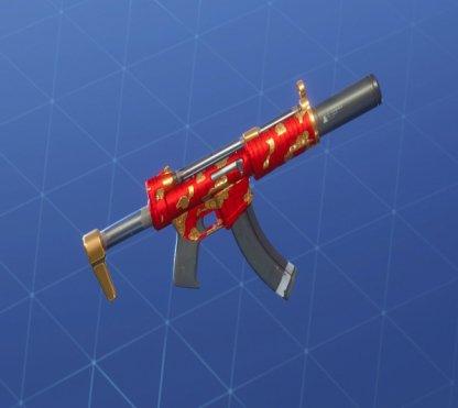 GOLDEN CLOUDS Wrap - Submachine Gun