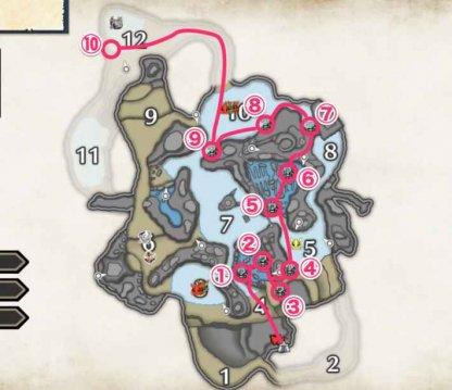 Boatshells - Locations & Farming Route