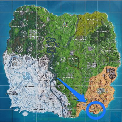 Season 7 Week 6 Secret Banner Location
