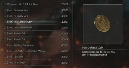Use Iron Defense Coin If Dodging Isn
