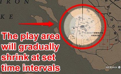 Player Area Will Gradually Shrink