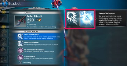 Unlock New Weapon Specials & Mods