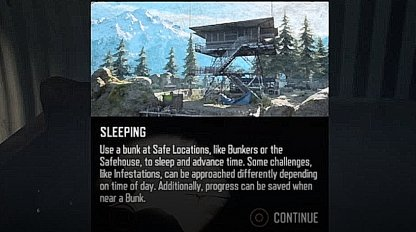 Sleep In Bunkers & Safehouses