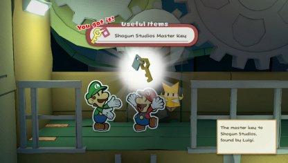 Luigi Will Give You the Shogun Studios Master Key