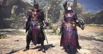 Zorah Magdaros Gamma Armor