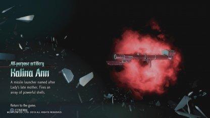 How To Get The Kalina Ann Rocket Launcher