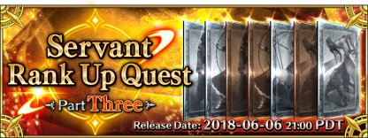 Rank Up Quests Part Three banner