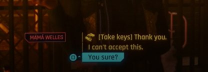 Remember To Say Yes When Offered key