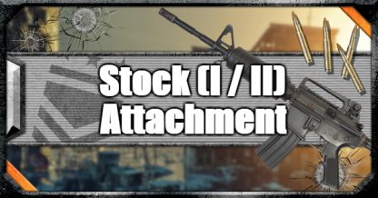 Call of Duty Black Ops IV Weapon Attachments Stock (I / II)