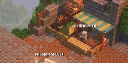 Get Armor & Weapons From Blacksmith