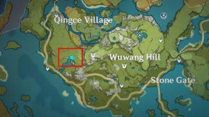 Qingce Tree Location 4