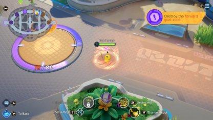 Slowing Field In Between Enemy Goals