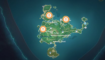 Perch Locations