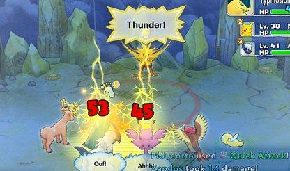 Thunder Hits Multiple Targets