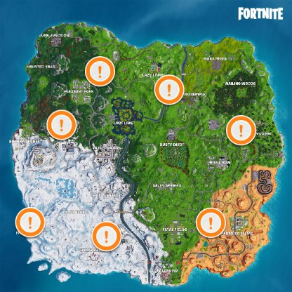 Fortnite Vehicle List Characteristics And Locations Battle Royale