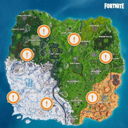 Fortnite Vehicle List Characteristics And Locations Battle Royale