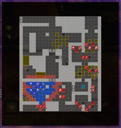 A Skirmish in Abyss Map