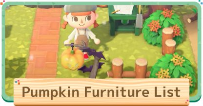 Pumpkin Item List