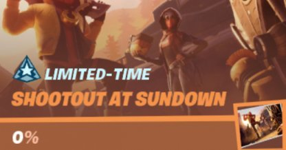 Shootout at Sundown Rewards