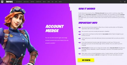 Fortnite | How to Merge Accounts