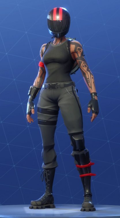 Skin Outfit REDLINE