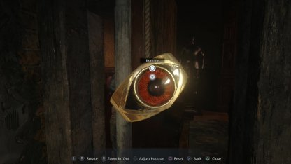 Inspect The Ring To Get Maroon Eye