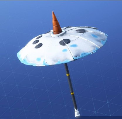 Fortnite Snowfall Umbrella