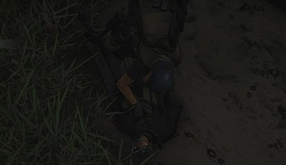 Grab An Enemy Body