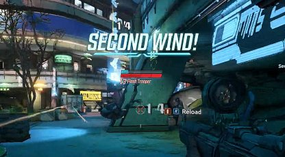 Gain Second Wind When You Kill An Enemy