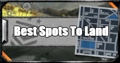 Best Spots To Land In Blackout Mode - Tips & Good Locations