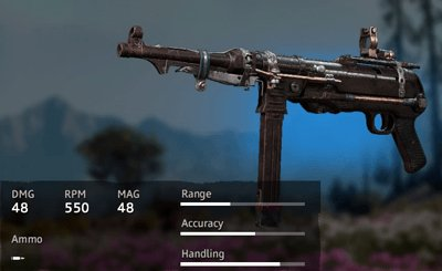 Far Cry New Dawn Makeshift MP40