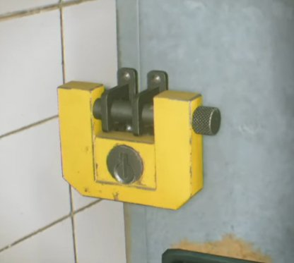 Pay Attention To Yellow Padlock Locations