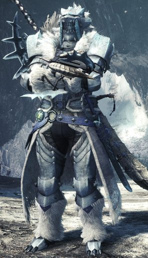 Mhw Iceborne Frostfang Barioth Weapons Armor Gamewith