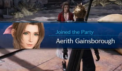 Aerith Joins Your Party