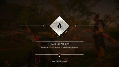 Acquire Flaming Arrows