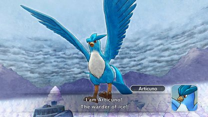 Encounter Ice Legendary Articuno In Dungeon