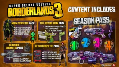 Borderlands 3 Available Editions