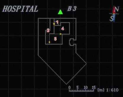 Hospital B3 Map
