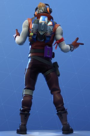 STAR-LORD OUTFIT Back