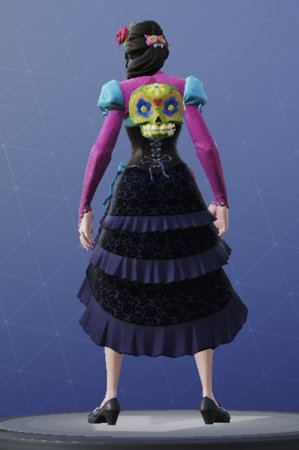 In And Out Prices >> Fortnite | ROSA - Skin Review, Image & Shop Price