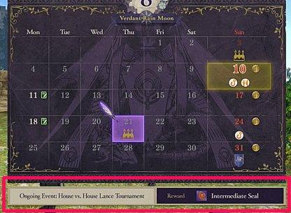 Check Calendar For Theme & Rewards